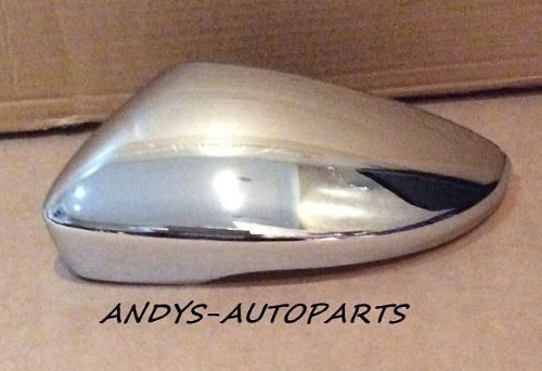 VW PASSAT 2010 ONWARDS WING MIRROR COVER L/H OR R/H IN CHROME